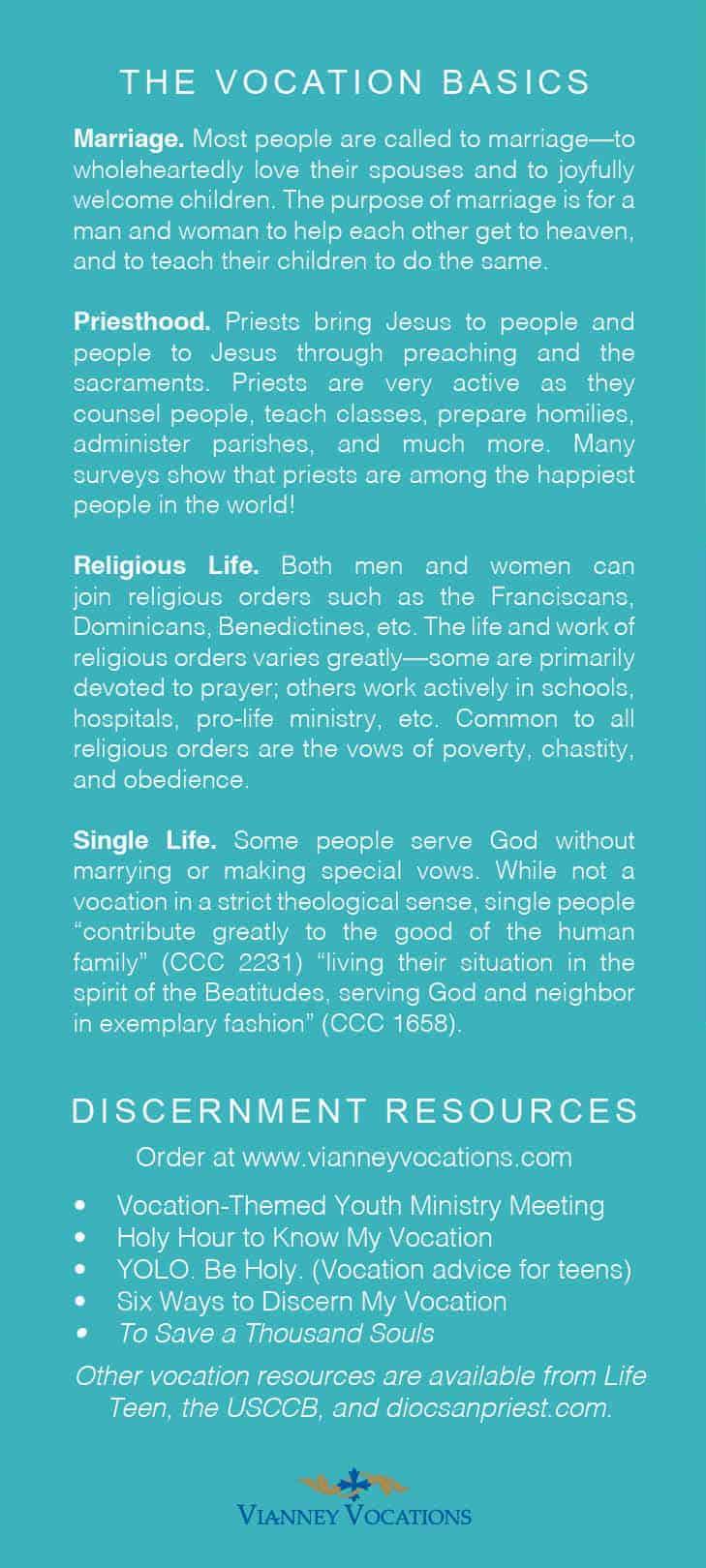 discipleship always includes discernment brochure  set of 25