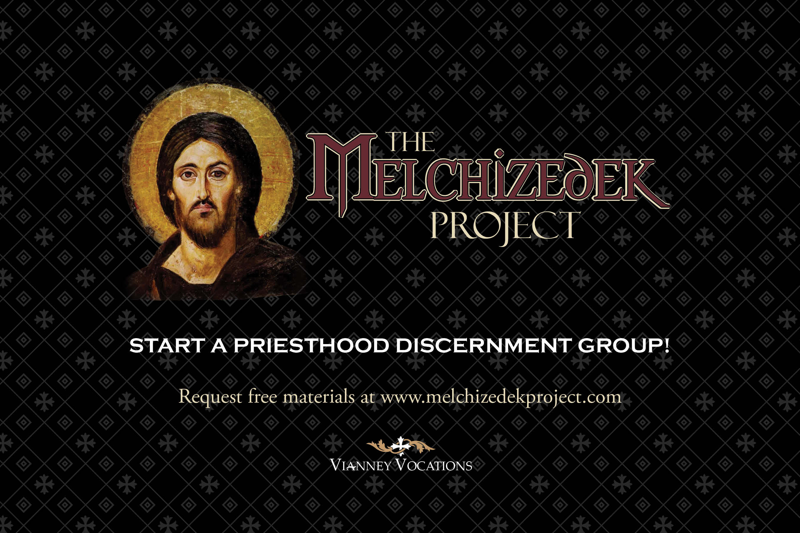 Melchizedek Project Free Resources for Discernment Groups Info Card