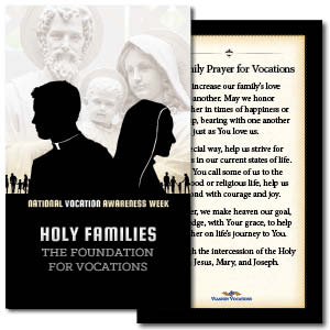 Prayer Card for National Vocation Awareness Week (set of 50)