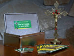 Traveling Vocation Crucifix program brochure