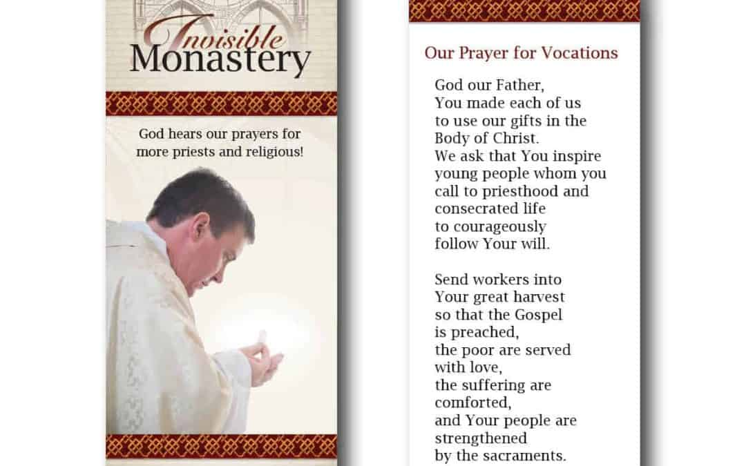 Bookmark – Invisible Monastery (set of 50)