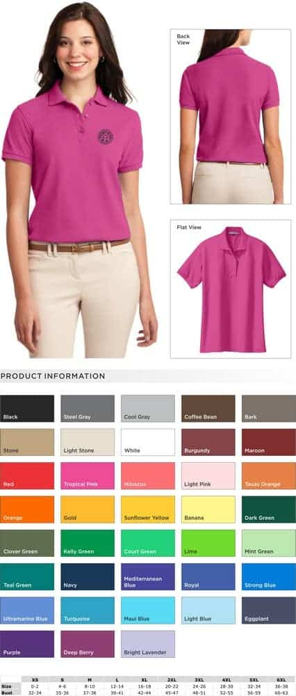 684caab32 Port Authority® Ladies  Silk Touch™ Polo - Vianney Vocations