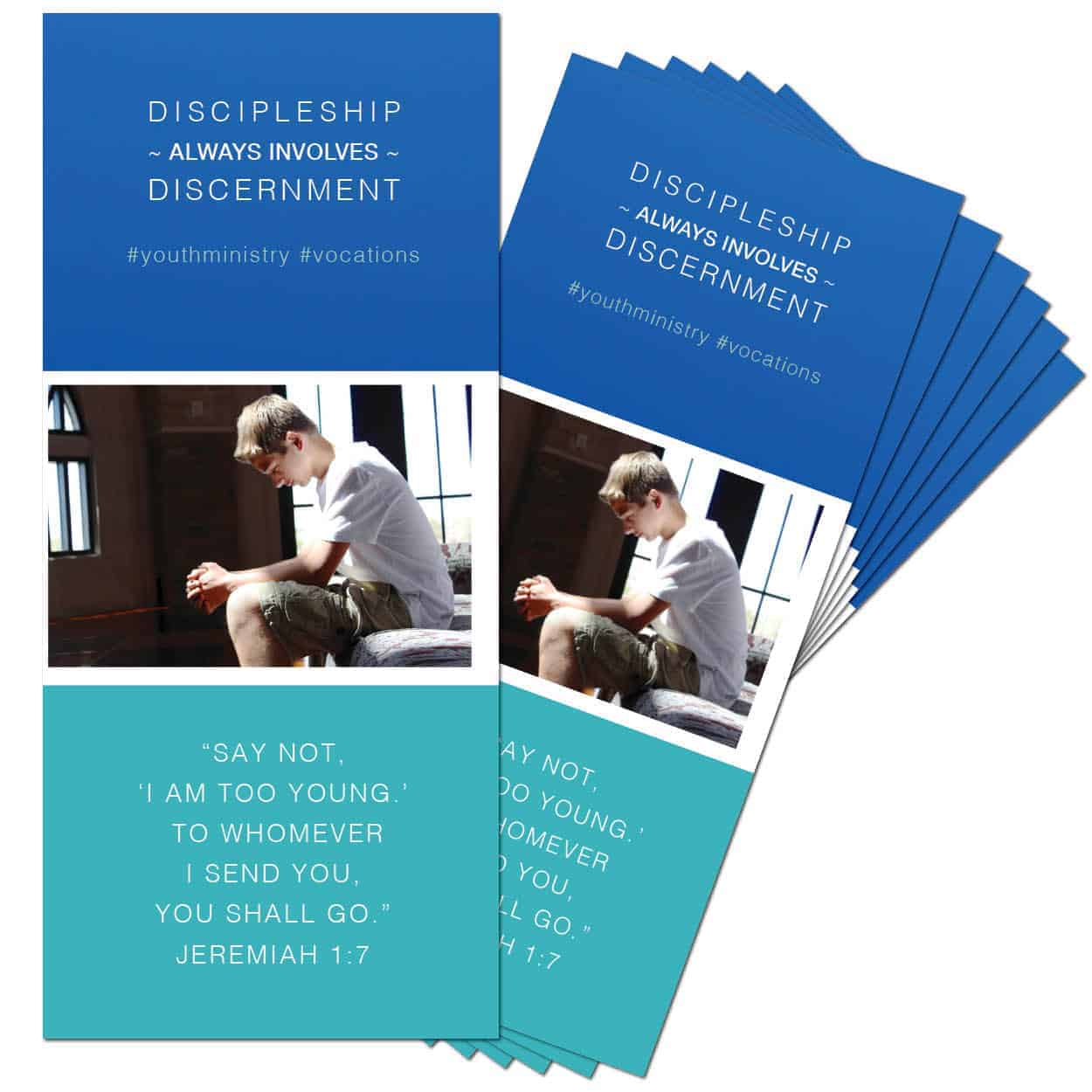 discipleship always includes discernment brochure  set of