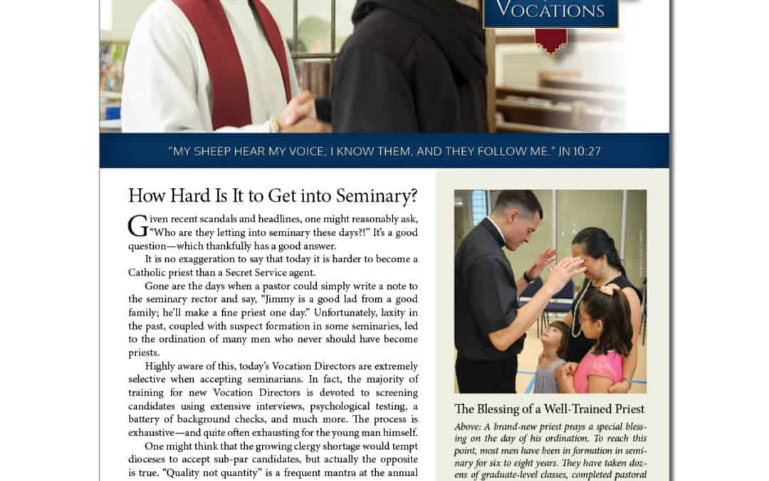 Bulletin Insert—World Day of Prayer for Vocations